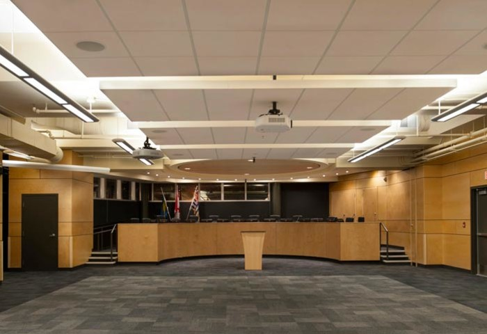 Burnaby Central Secondary Meeting Hall Photo 0