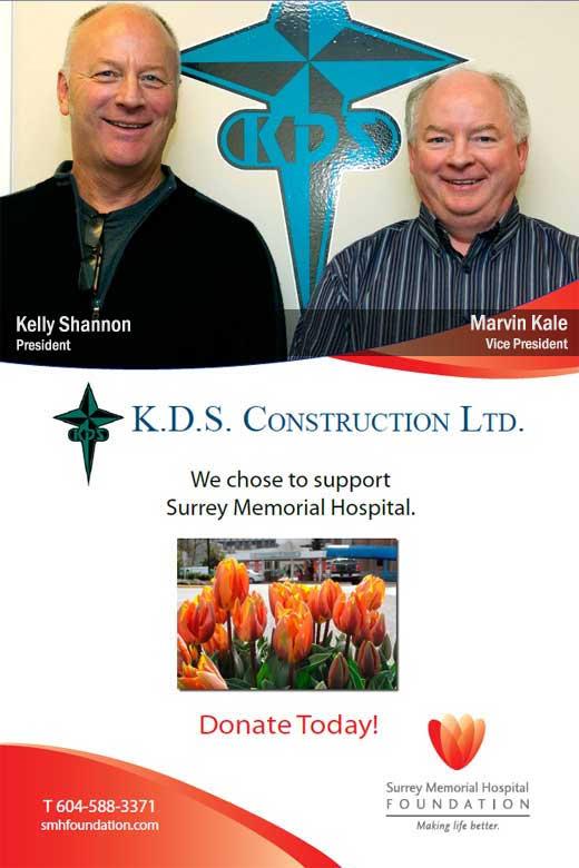 Surrey company helps hospital's Family Birthing Unit